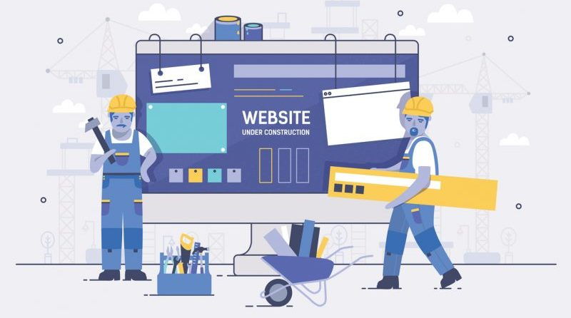 How to create a web site in 5 steps