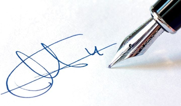 Add your signature to a PDF document