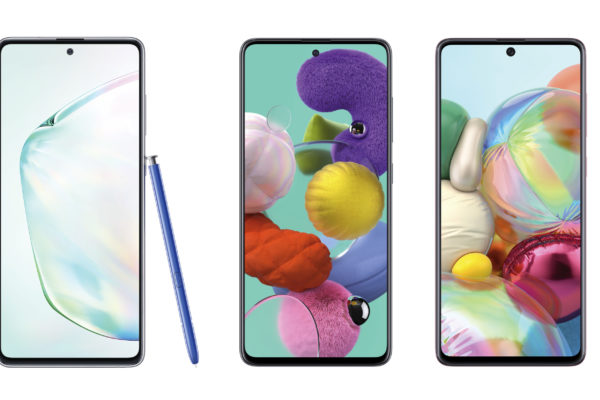 Samsung launches the Galaxy Note 10 Lite, Galaxy A51 and the Galaxy A71